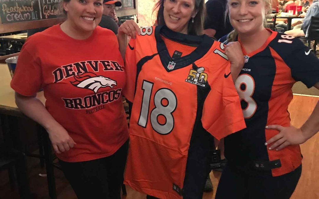 Bronco Jersey Giveaway